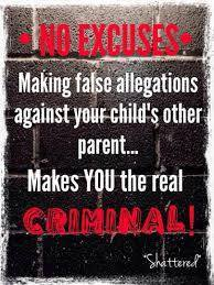 False allegations of abuse is a crime - 2016