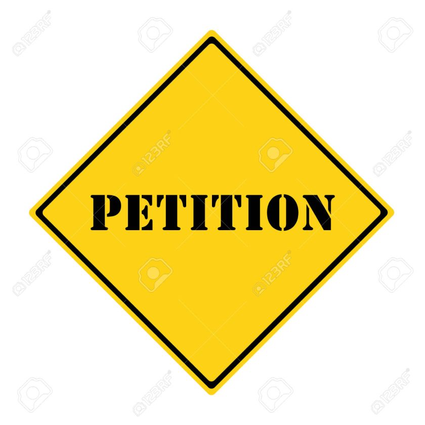 Petition Sign