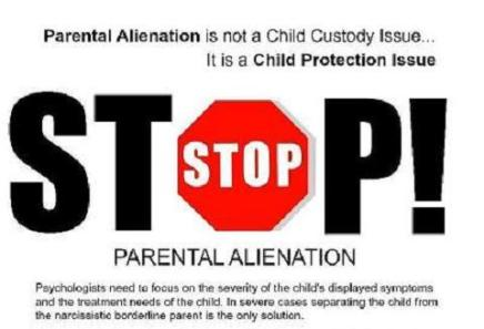 parental alienation essay Parental alienation has had an enormous impact on my life being, separated from my daughters was the most dramatic event i have ever experienced.