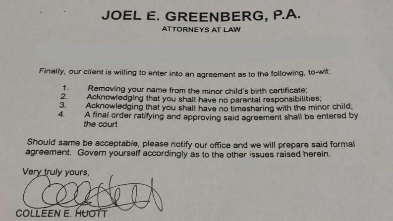 December 24 letter from Greenberg - Nixa Rose