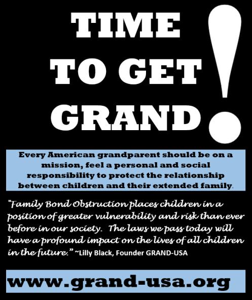 Grandparent Child Relationship Obstruction - 2016