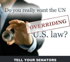 No UN Overide on US Laws - 2015