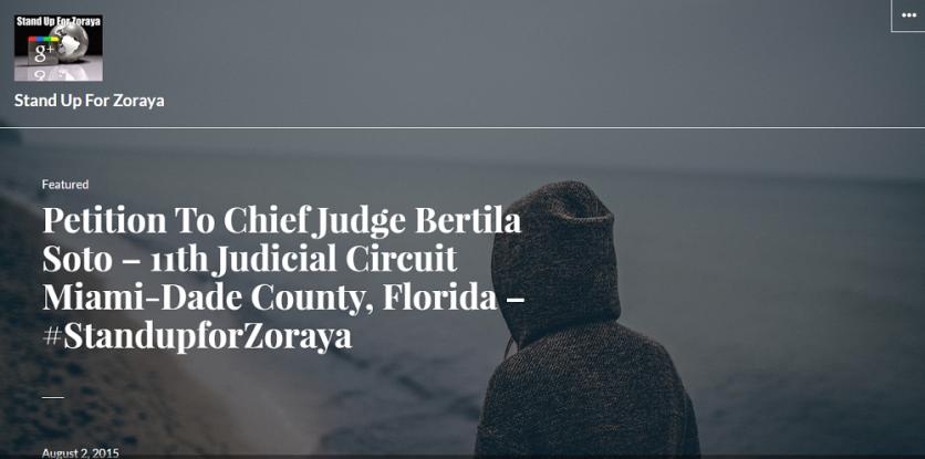 Petition to Chief Judge Bertila Soto - Causes Care2 2015