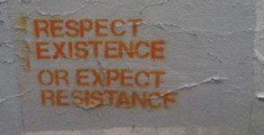 respect existance of expect resistance