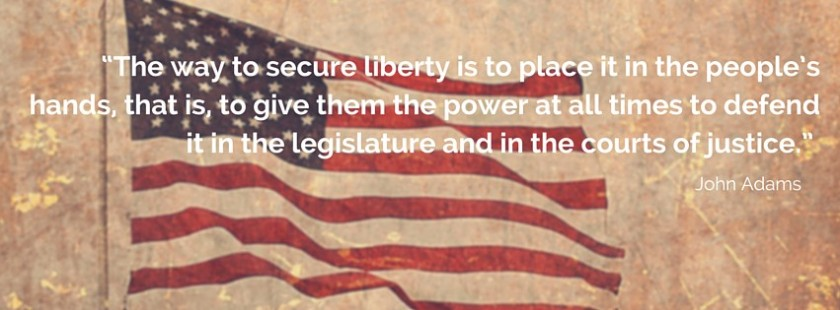 Securing Liberty - John Adams -- 2015