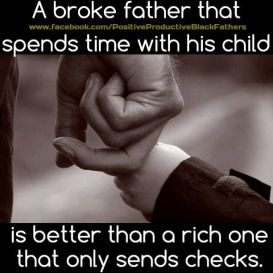 Time is better than money for a child - 2015