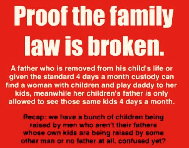 Proof Family Law is Broken - 2016