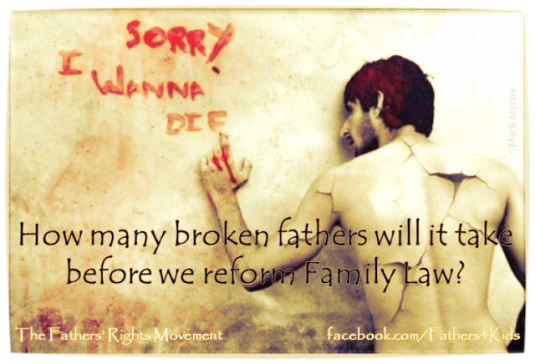 Suicidal Fathers By Family Courts - 2016