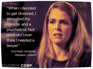 DivorceCorp - Consulted a minister and psychiatrist NOT Lawyer - AFLA Blog 2016