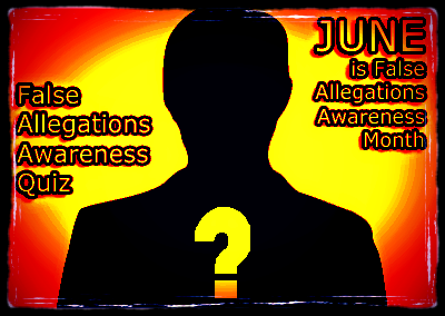 False Allegations of DV Awareness JUNE - 2016
