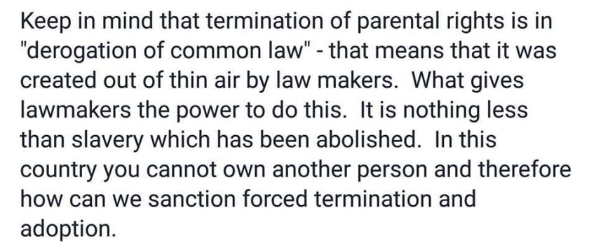 Termination of Parental Rights - 2016